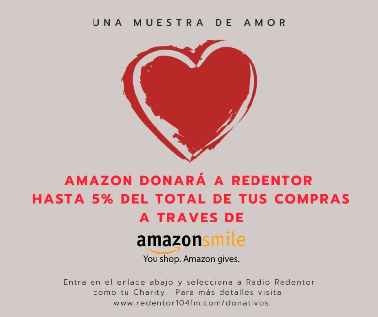 Amazon Smiles - 104.1 Redentor